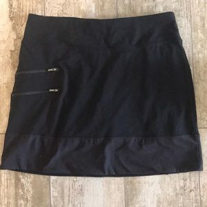 Athleta Size Medium Black Skort